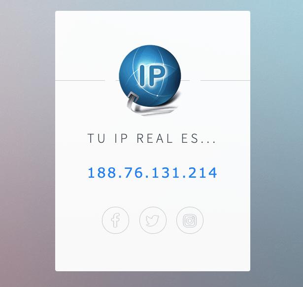 Como saber tu ip