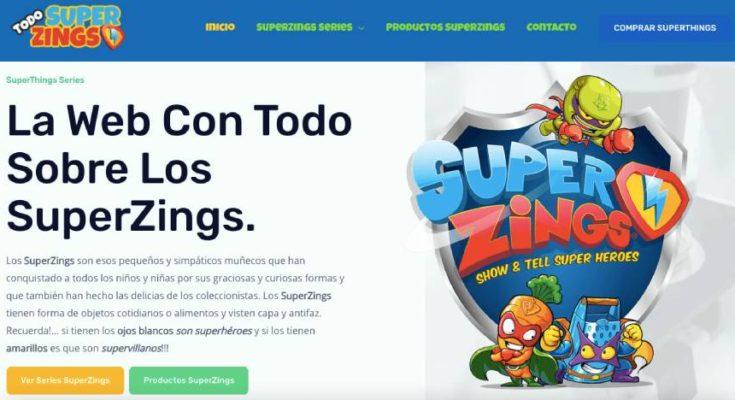 SuperZings Web